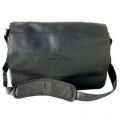 2574P Leather Traditional Messenger Bag
