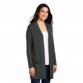 LK5434 Port Authority ® Ladies Concept Long Pocket Cardigan