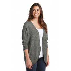 LSW416 PA Ladies Marled Cocoon Sweater