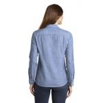 LW380 PA Ladies Slub Chambray Shirt