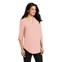 LW701 PA Ladies 3/4-Sleeve Tunic Blouse