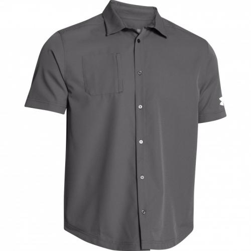 8b744452e6c8 1259095 Under Armour Men s Ultimate Short Sleeve Buttondown