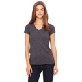 B6005 V-NECK - BELLA + CANVAS LADIES' JERSEY SHORT-SLEEVE T-SHIRT
