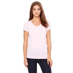 *B6005 Ladies V-neck Pink
