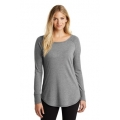 DT132L District Made Ladies Perfect Tri Long Sleeve Tunic